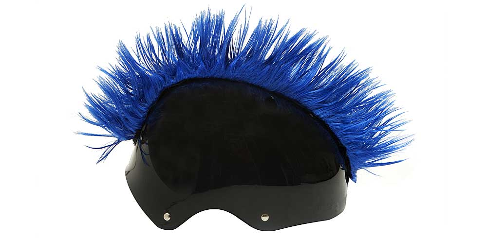 Wiggystyle Mohawk Dark Blue