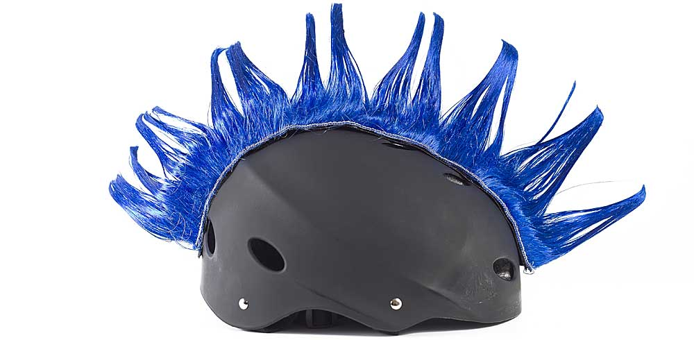 Wiggystyle Spike Blue